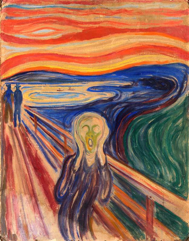El grito de Munch Arte terapia
